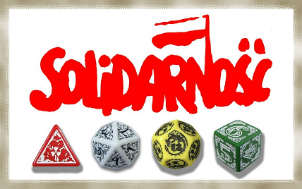 Weapons of the oppressed proletariat - organized resistance and visionary dice!