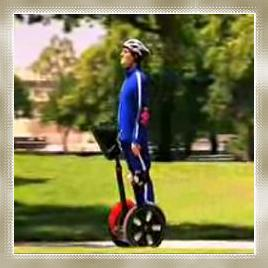 Segue to a Segway. Gamer Bling is white & nerdy.